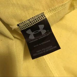 Under Armour Shirts - Men's underarmour yellow shirt size S  15